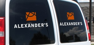 vinyl stickers by Alexander's