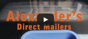 customized direct mailers video from alexanders