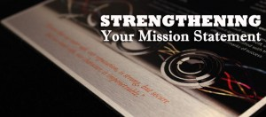 strengthening your mission statement