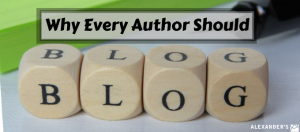 Why Authors should Blog