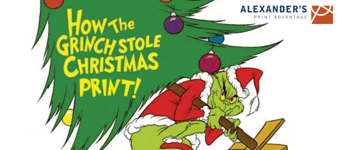 The Grinch Who Stole Christmas.What If The Grinch Stole Christmas Print