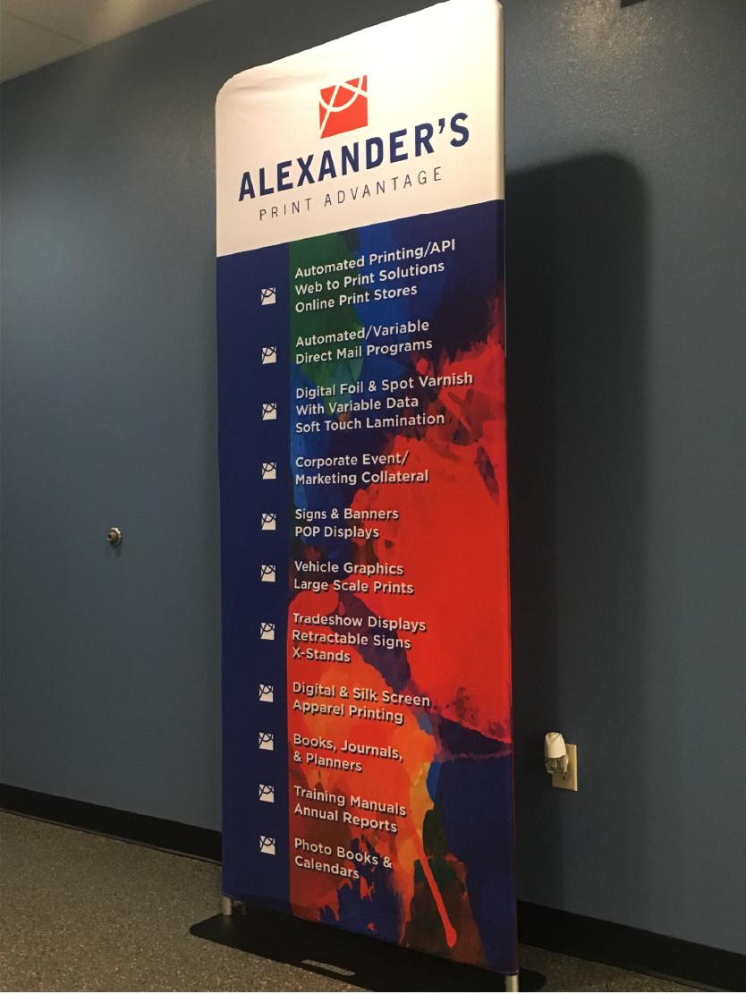Vinyl, Banners, and Wraps | Alexanders Print Advantage - Web