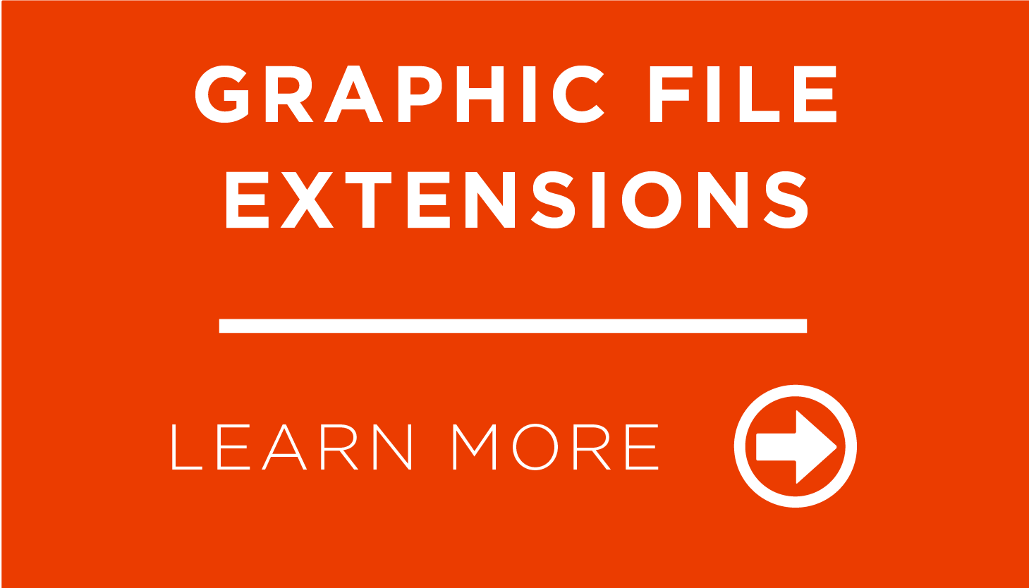 Graphic File Extensions
