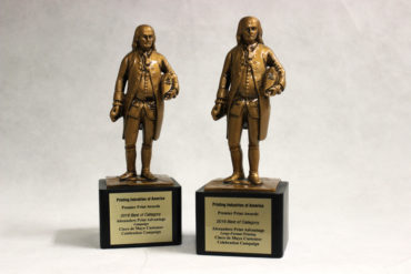 two benny awards