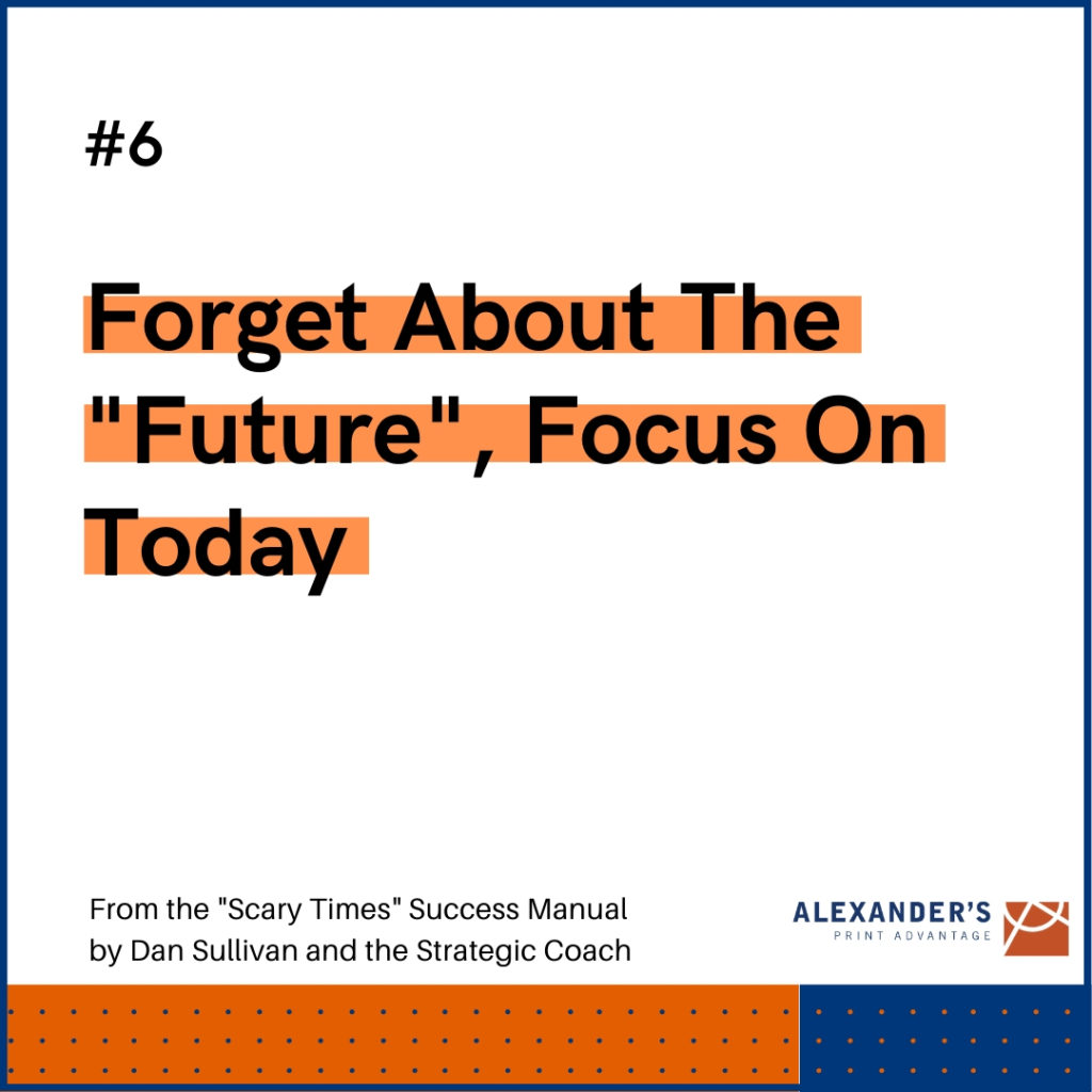 "Graphic: Forget about the ""Future,"" Focus on Today"